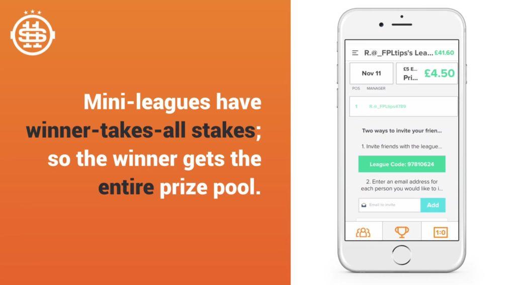 Starting 11 Prize Pool