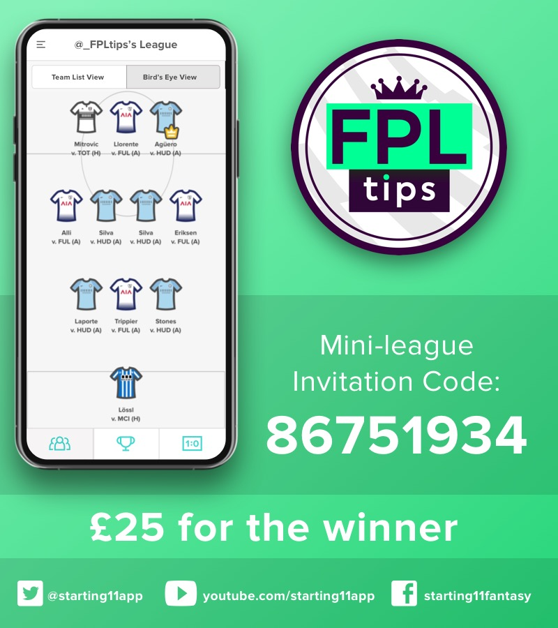 Gameweek 23 Daily Mini League