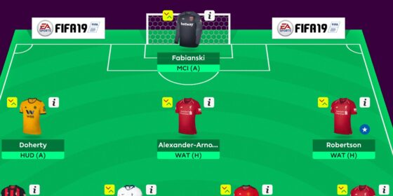 Gameweek 28 Team