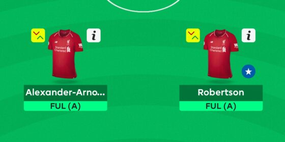 Gameweek 31 Team