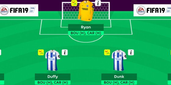 Gameweek 34 Team