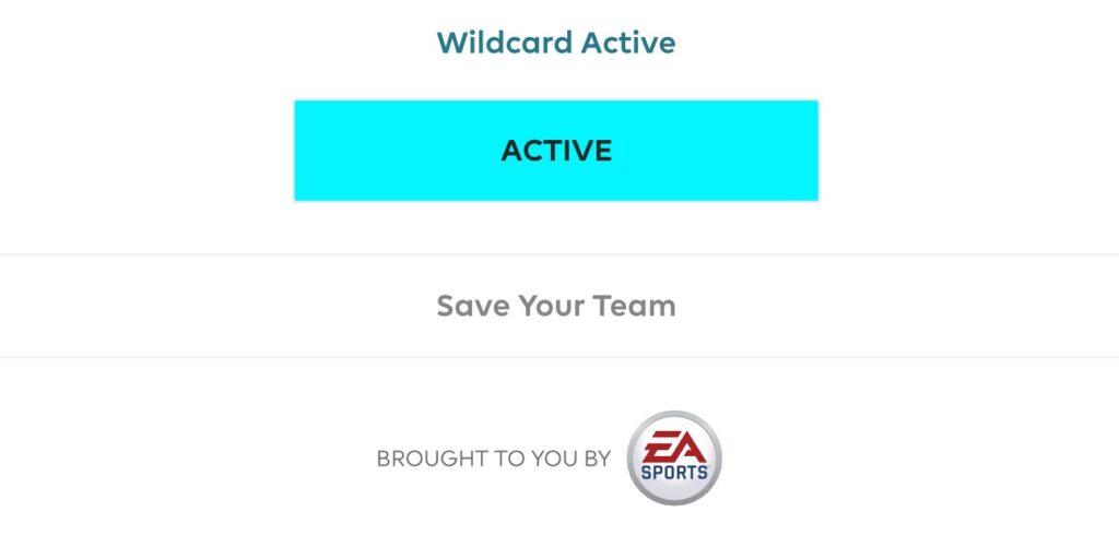 Gameweek 34 Wildcard