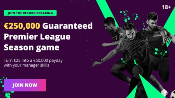 Fanteam Fantasy Premier League Cash Leagues