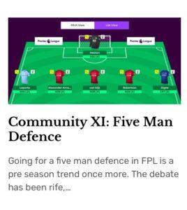 CXI Five Man Defence Button