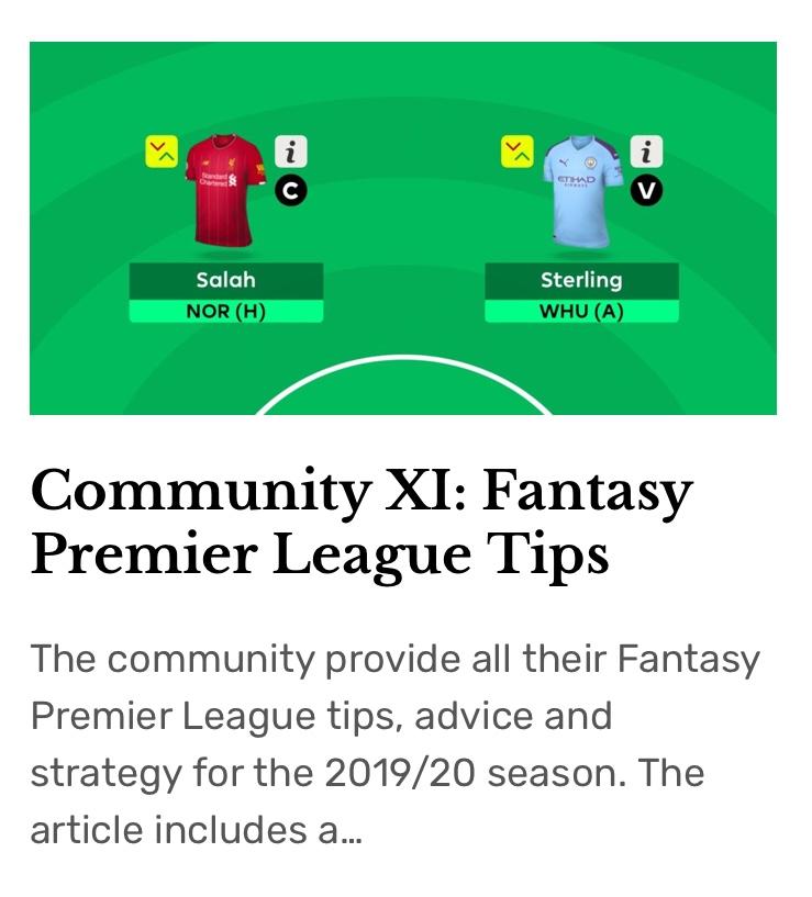 XI Essential Tools for Fantasy Premier League Success