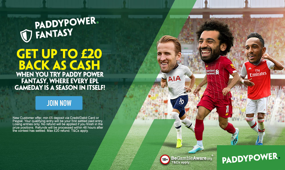 Paddy Power Fantasy