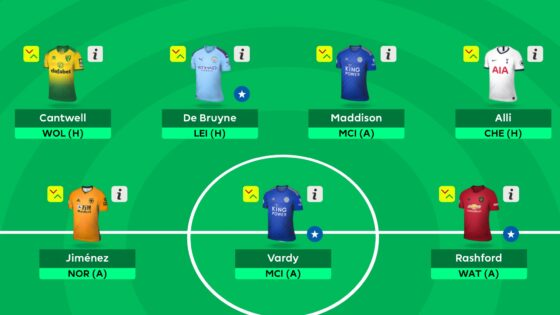 Gameweek 18 Team