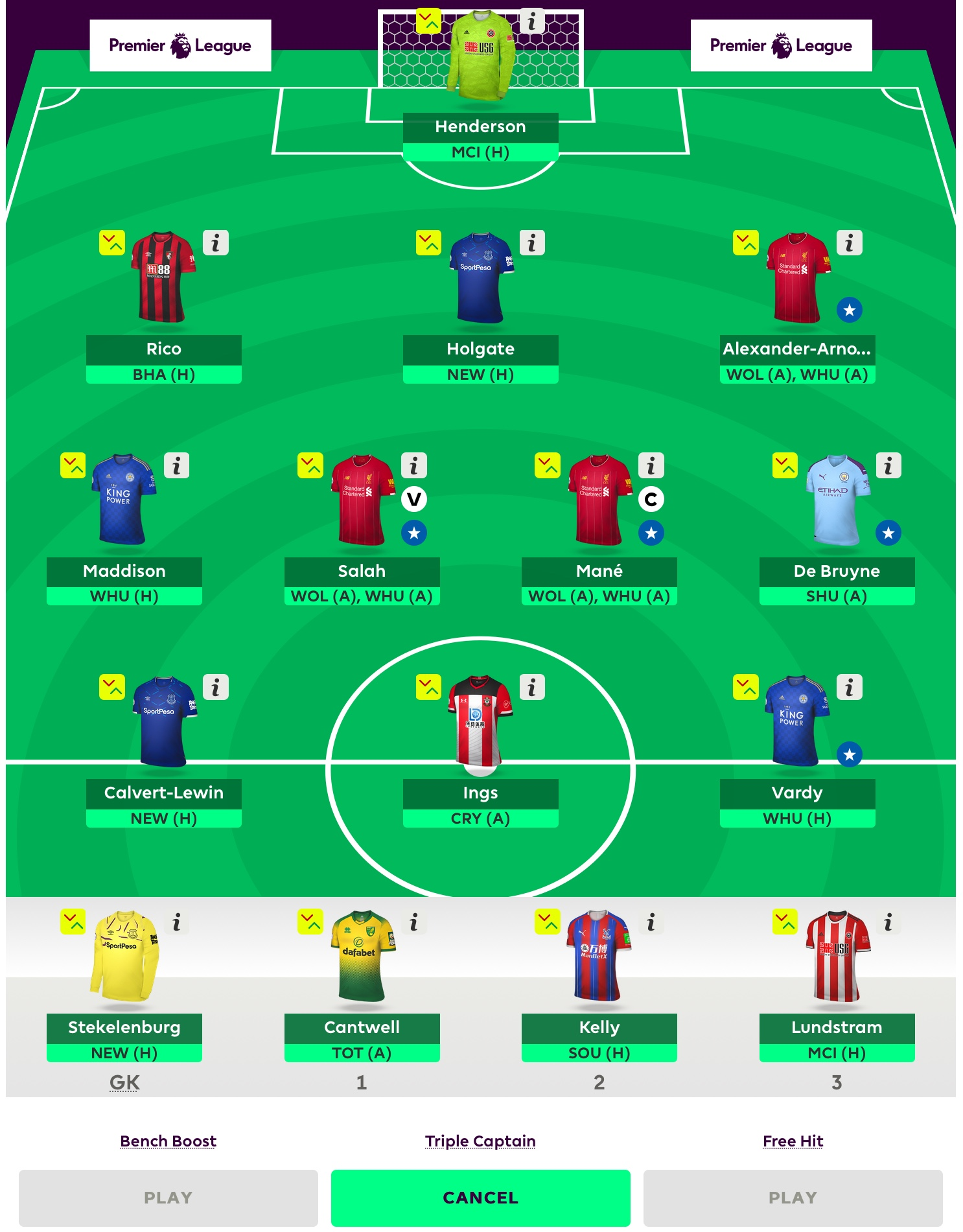 FPL Gameweek 24 Team Preview