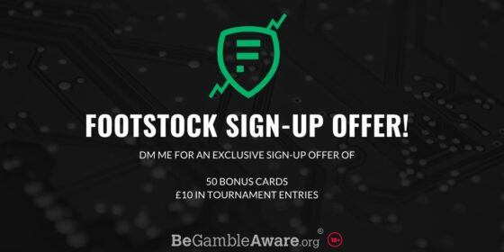 footstock welcome bonus
