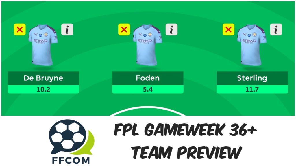 FPL Gameweek 36