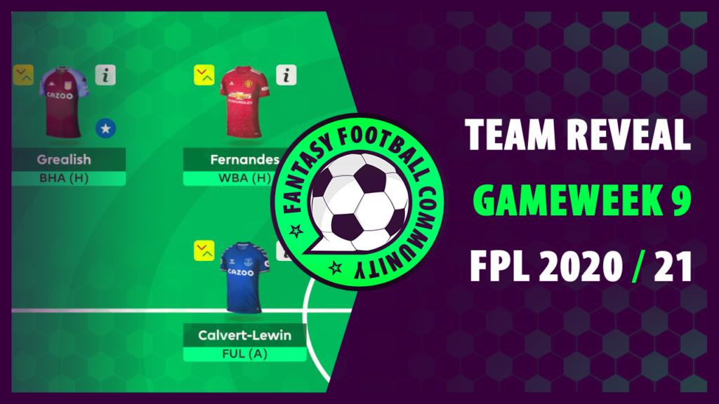 Best FPL Team GW9