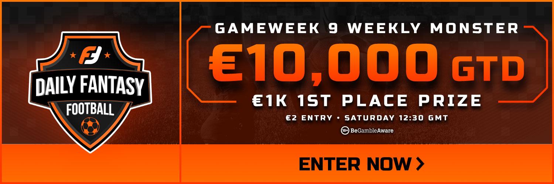 Gameweek 9 FPL