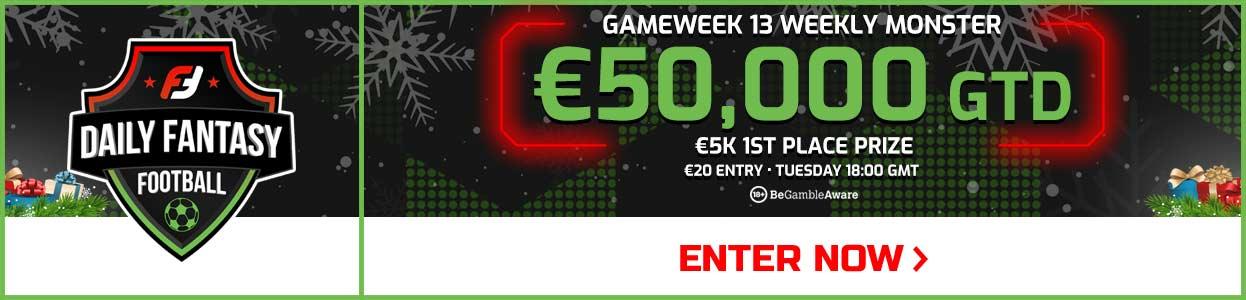 Gameweek 13 FPL