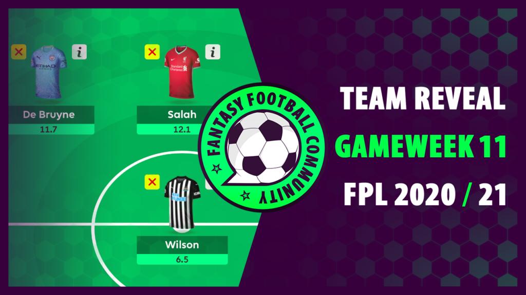 Best FPL Team GW11