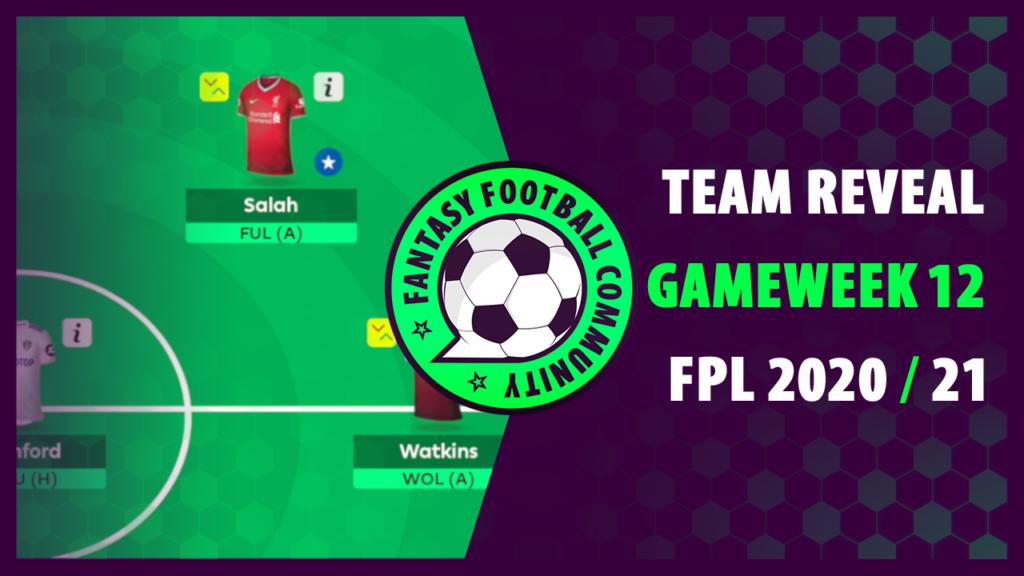 Best FPL Team GW12