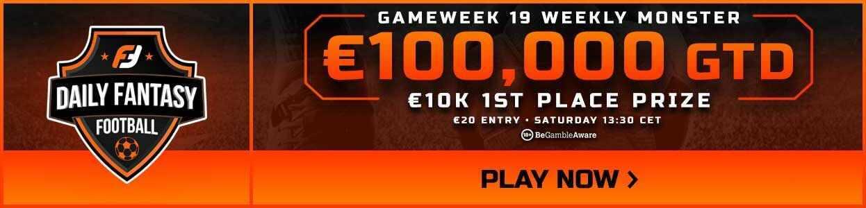 Gameweek 19 FPL