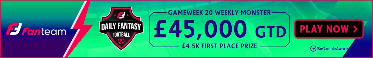 Gameweek 20 FPL