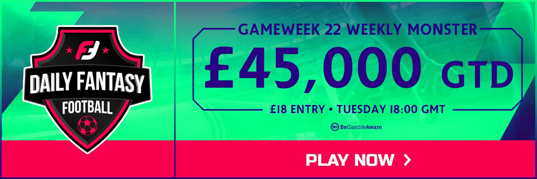 Gameweek 22 FPL
