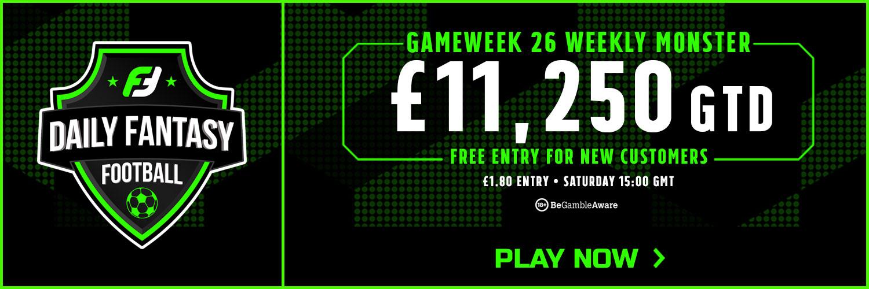 Gameweek 26 FPL