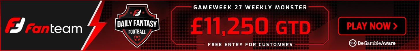 Gameweek 27 FPL