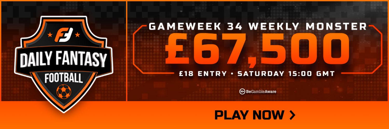 Gameweek 34 FPL